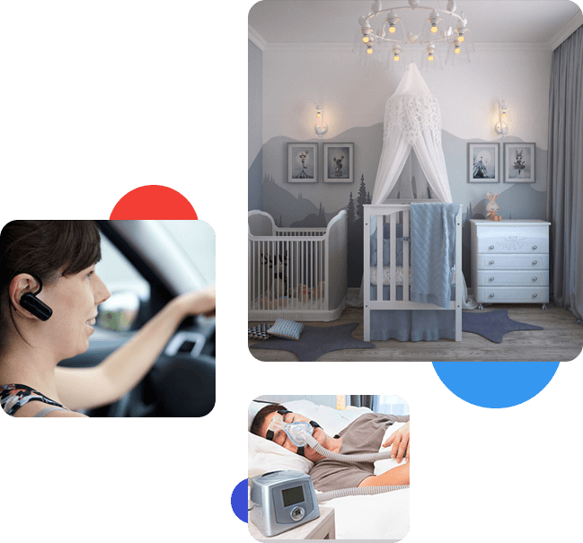EMF Consulting Services, CPAPS, Baby Rooms etc.